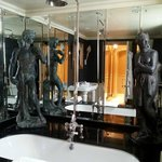 Bathroom - marble everywhere!