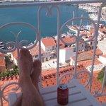 utsikt fra terrasse, view from terrace