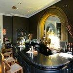 Bar at Hotel Castillo Bosque de la Zoreda.