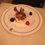 Passionfruit ice cream