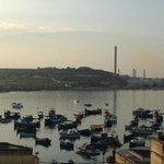 Early Morning View of Harbour from Roof Terrace