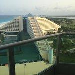 Vista desde habitación lateral club suite