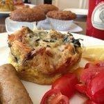 breakfast fritata