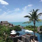 Nora Buri Resort, one of the pool areas