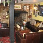 Sitting area in Pub