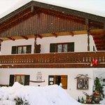Gästehaus Isarau im Winter