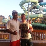 Me and Mustaffa (the best life guard in Sharm)