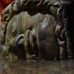 Medusa head pillar