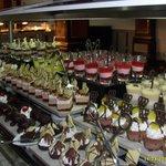 choix exeptionnel de desserts