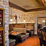 Cozy indoor dining