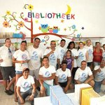 Diamonds International employees were proud participants in the second Lend-A-Hand Project in Ar