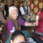 Tibetaani in preghiera