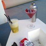 Les cocktails, délicieux!!!!!