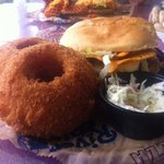 Best burger and onions rings...EVER!