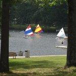 Lake Teedyuskung_sailboats