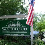 Woodloch Welcome sign