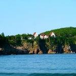 View of lodge from Ingonish Beach