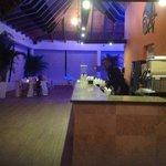 franklin at beach bar