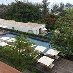 The beautiful pool