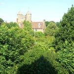 View from window of Sissinghurst room