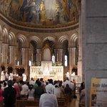 Interior during Mass