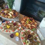 great savouries to complement a chocolate workshop