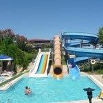 Toboggans de la piscine enfants