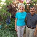 Marsha with innheeper Walt