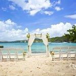 Secret Harbour Beach Resort for Destination Weddings