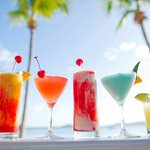 Beach refreshments at Secret Harbour Beach Resort