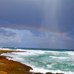 rainbow at Cape of Good Hope