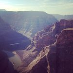 View of Grand Canyon from Helicopter