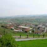 View of Barbaresco wine country