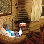 Cool evenings, warm fire