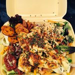 Take-away mojito chicken salad off their gym menu