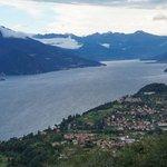 Vy från Baita Belvedere