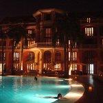 Área da piscina do Hotel Sofitel Santa Clara (conveniado)