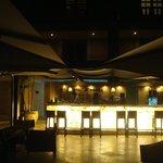 Área do bar do Hotel Sofitel Santa Clara (conveniado)
