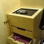 safe in room closet