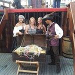 We found the treasure ship!