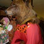 Masha and the Bear--think Goldilocks!