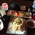 Mixed Tempura & sushi