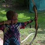 our youngest dong archery