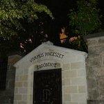 The gate to the wine cellar, Tokaji Region, Hungary