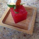 Watermelon Amuse Bouche