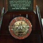 HMS Victory plaque