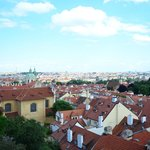 Prague Castle - The view from up there.