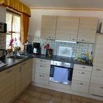 Küchenansicht in der Panorama Whg. ( es fehlt an Nichts)