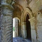Detail at entrance to Santa Maria de Naranco