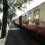 Am Bahnhof in Wernigerode